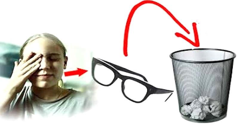 Zahoďte okuliare azískajte späť svoj zrak (bez operácie)